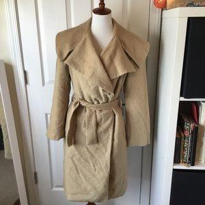 Camel hair coat.  Size small/medium.